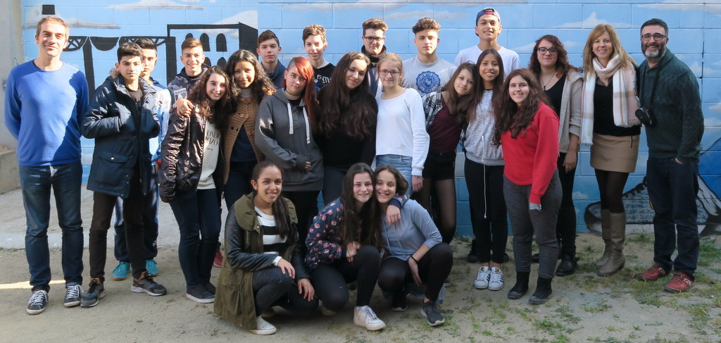 Spanish Erasmus group